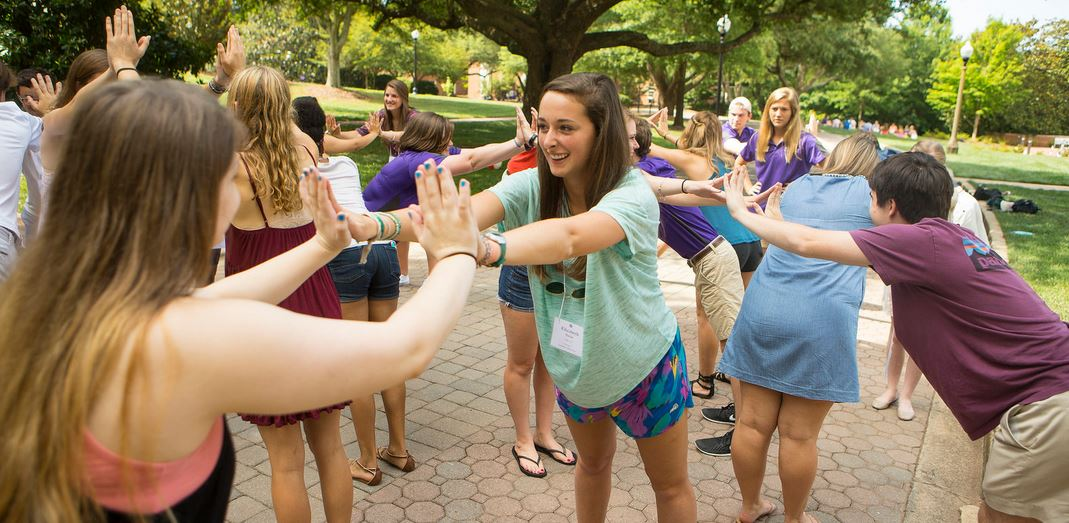 Furman orientation activity