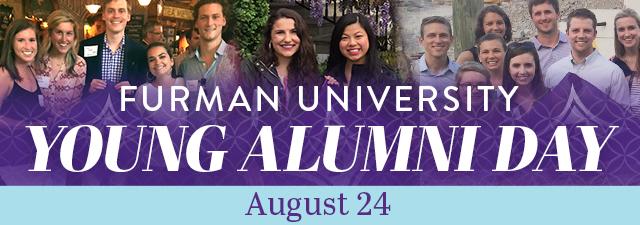 Furman graduates smiling